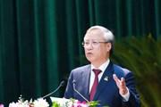 [Photo] Khai mạc Đại hội đại biểu Đảng bộ tỉnh Ninh Bình lần thứ XXII