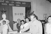45 năm ngày Tổng tuyển cử sau thống nhất đất nước: Dấu son lịch sử