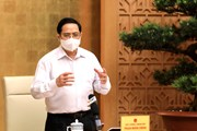 [Photo] Thủ tướng chỉ đạo công tác trước diễn biến mới của dịch bệnh