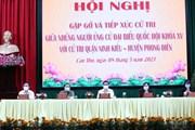 [Photo] Thủ tướng Phạm Minh Chính tiếp xúc cử tri tại Cần Thơ
