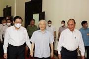 [Photo] Tổng Bí thư chủ trì Hội nghị toàn quốc các cơ quan nội chính