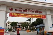 [Photo] 'Tướng diệt COVID-19' đến thị sát tâm dịch tại Chí Linh