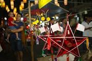 Rộn ràng Tết Trung Thu truyền thống tại phố Bích họa Phùng Hưng