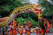 Rực rỡ sắc màu các linh vật tại Liên hoan múa Rồng Hà Nội 2019