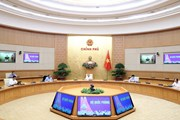 Thủ tướng làm việc với Ban chỉ đạo Quốc gia phòng chống dịch COVID-19