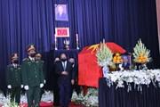 Lễ tang trọng thể nguyên Phó Thủ tướng Trương Vĩnh Trọng