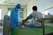Hình ảnh 6 bệnh nhân COVID-19 cuối điều trị tại BV Bệnh Nhiệt đới 2