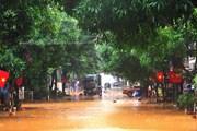 Khắc phục hậu quả sau mưa lớn gây ngập lụt ở Lào Cai và Hà Giang