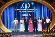[Photo] Toàn cảnh Lễ trao Giải Báo chí Quốc gia lần thứ 13