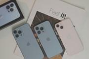 Ngắm ảnh thực tế những chiếc iPhone 13 đầu tiên về Việt Nam