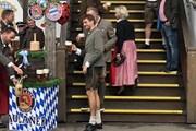 Câu lạc bộ Bayern Munich tại lễ hội bia thường niên Oktoberfest