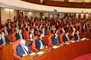 Hình ảnh bế mạc Hội nghị thứ mười hai Ban Chấp hành TW ĐCS khóa XII