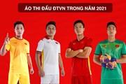 Cận cảnh áo thi đấu của đội tuyển quốc gia Việt Nam trong năm 2021