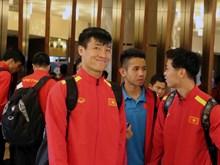Tuyển Việt Nam đặt chân đến Dubai, sẵn sàng quyết chiến Jordan