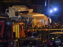 Hiện trường vụ đánh bom xe tại Ai Cập khiến 3 người Việt thiệt mạng