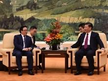 Ông Tập Cận Bình tiếp đặc phái viên của Tổng Bí thư Nguyễn Phú Trọng