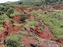 Lâm Đồng đánh sập hầm vàng trái phép khiến sụt lún đất vườn của dân