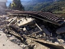 Dư chấn động đất mạnh tại miền Trung Italy lan xa tới 300km