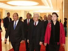 [Photo] Hội nghị triển khai Nghị quyết của Quốc hội khóa XIV