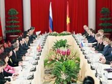Chùm ảnh hội đàm nguyên thủ Việt Nam-Liên bang Nga