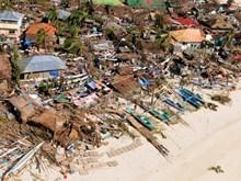 Chùm ảnh Philippines ngập lụt, đổ nát sau siêu bão Haiyna