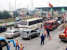Trạm thu phí BOT Quốc lộ 5 đoạn qua Hưng Yên lại bị gây rối