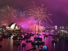 Hình ảnh thế giới rộn ràng mừng đón Năm mới 2019