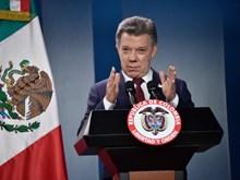 Giải Nobel Hòa bình 2016 cổ vũ tiến trình hòa đàm tại Colombia