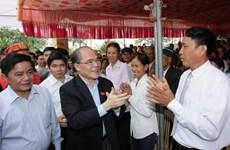 Chủ tịch Quốc hội dự Ngày hội Đại đoàn kết ở Thái Bình