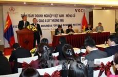 Mông Cổ sẵn sàng chào đón các nhà đầu tư Việt Nam