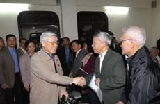Tổng Bí thư tiếp xúc cử tri các quận Ba Đình, Hoàn Kiếm