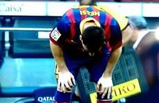 """Messi tìm ra phương pháp """"kỳ diệu"""" điều trị chứng nôn khan"""