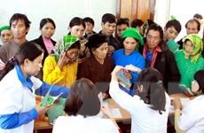 Dấu chân tình nguyện của các thầy thuốc trẻ Nghệ An