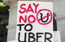 Tài xế taxi ở Bỉ đồng loạt tẩy chay dịch vụ taxi giá rẻ Uber