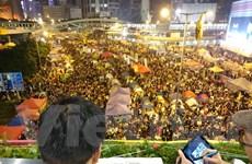 [Photo] Toàn cảnh hoạt động giải tán người biểu tình tại Hong Kong