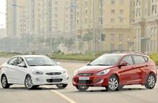 Hyundai ra mắt Accent Blue 2015 tiết kiệm nhiên liệu hơn 4%