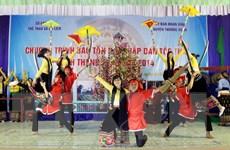 [Photo] Nghệ thuật hát Khặp của dân tộc Thái ở Thanh Hóa