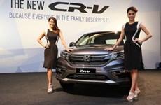 Honda Malaysia công bố mẫu xe thể thao đa dụng CR-V 2015