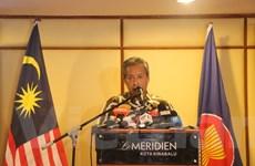 Malaysia họp báo về Hội nghị hẹp Bộ trưởng Ngoại giao ASEAN