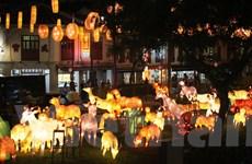 Chinatown ở Singapore rực rỡ và lung linh trong lễ hội đèn lồng