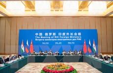 Quan hệ Trung-Nga, Trung-Ấn đang bước vào giai đoạn phát triển mới