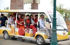 Hải Phòng đưa xe điện phục vụ khách du lịch trong dịp Tết