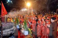 Nam Định: Lễ khai ấn Đền Trần Xuân Ất Mùi 2015 khai mạc trong đêm