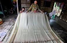 [Photo] Độc đáo làng nghề dệt chiếu truyền thống Ngan Dừa