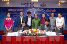 LaoVietBank ký hợp tác chiến lược với Công ty Hệ thống thông tin FPT