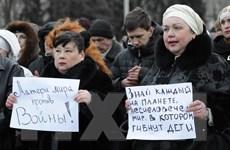 """Quan chức tỉnh Dnipropetrovsk kêu gọi chính quyền Ukraine """"ra đi"""""""