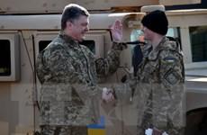Binh lính Mỹ bắt đầu huấn luyện cho Vệ binh Quốc gia Ukraine