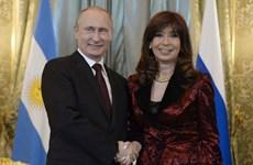 Nga ủng hộ Argentina trong tranh chấp chủ quyền với Anh