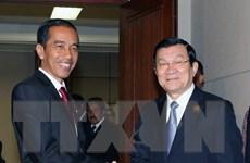 Chủ tịch nước dự các hoạt động tại Hội nghị Cấp cao Á-Phi