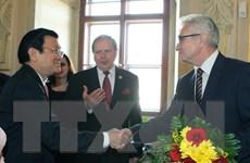 Chủ tịch nước hội kiến Chủ tịch Thượng viện và Chủ tịch Hạ viện Séc
